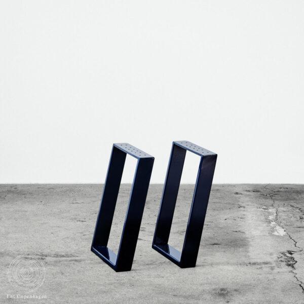 Bænkben fra Ent Copenhagen. Nordisk Design. Metal bordben