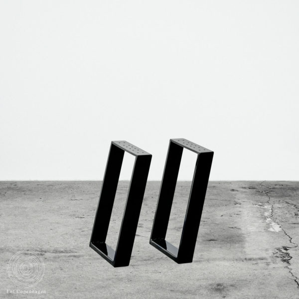 Bænkben Frk. Foltinger i sort, fra Ent Copenhagen