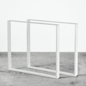 Hvide bordben plankebord Ent Copenhagen Nordisk design spisebord metal