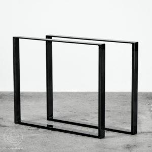 bordben plankebord spisebord sort metal Nordisk Design Ent Copenhagen